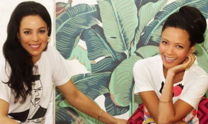 Kay gets Thandie ready for Chanel