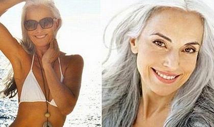 Grey hair Shade Yasmina Rossi 2020 By Eve Claxton