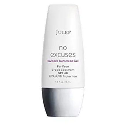 JULEP no excuses Invisible SUnscreen Gel SPF 40
