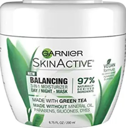 SkinActive 3-in-1 Face Moisturizer with Green Tea